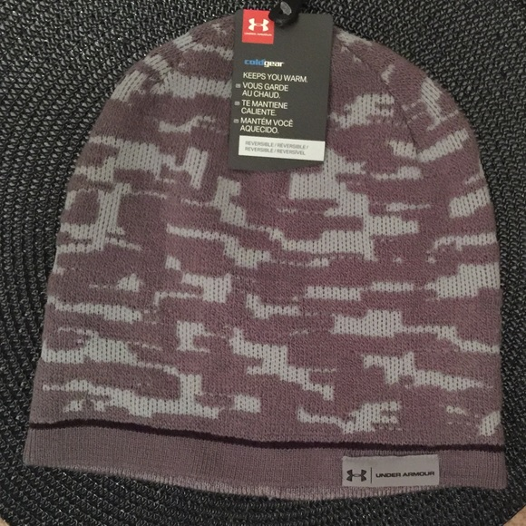 71d0d978644 Under Armour Camo Reversible Knit Hat